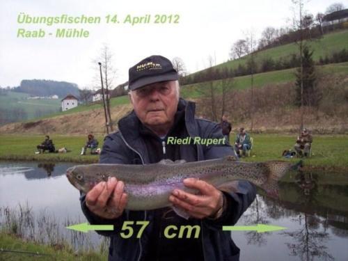 Übungsfischen 14. April 2012